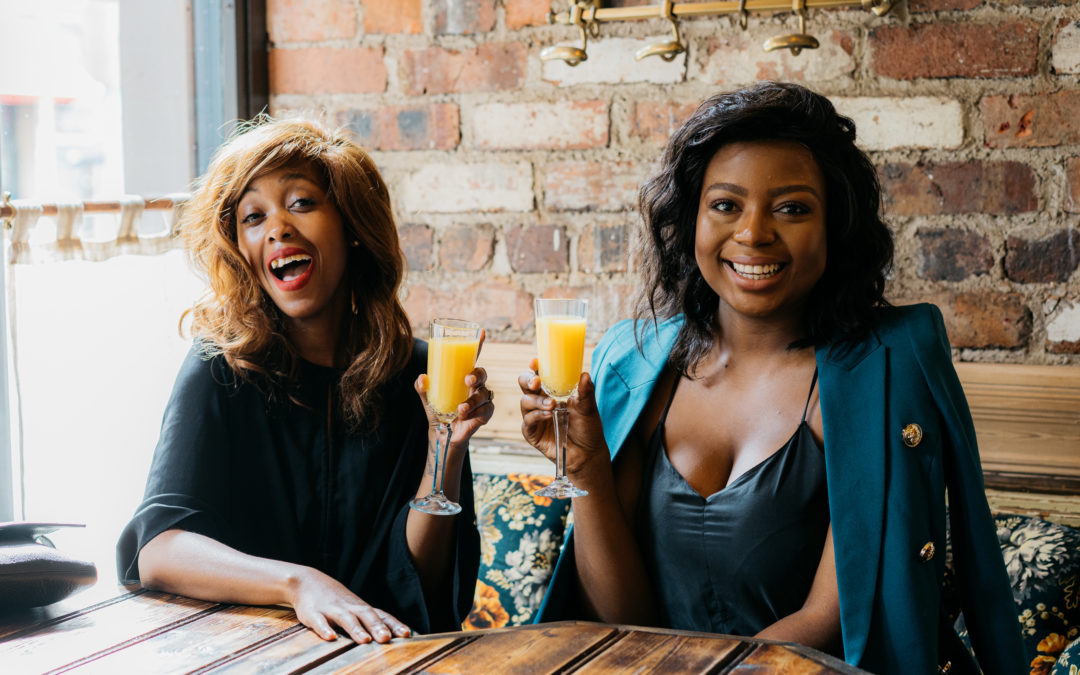 MIMOSAS, FAMILY AND A GOOD SISTERLY BONDING TIME